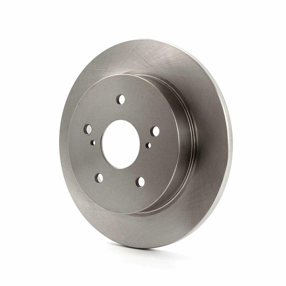 Rear Disc Rotors /& Semi-Metallic Brake Pads Kit for 2010-2013 Suzuki Kizashi