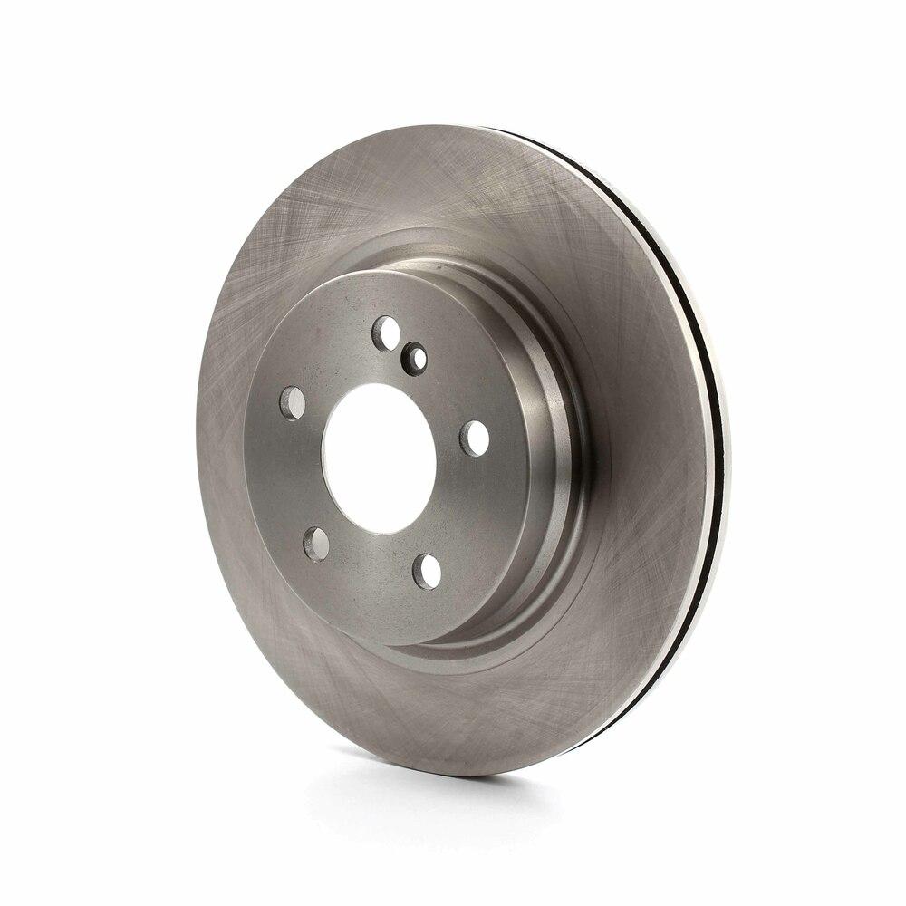Front Rear Disc Rotors /& Semi-Metallic Brake Pads Fits Acura TL