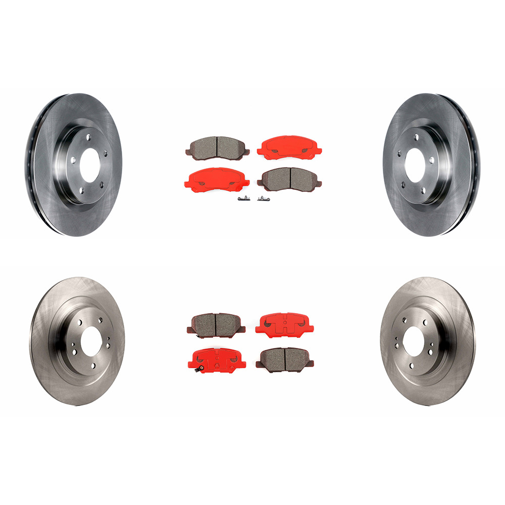 OE Replacement Rotors Ceramic Pads F 2014 2015 Mitsubishi Outlander Sport