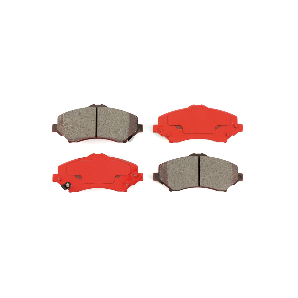 For 2007-2017 Dodge,Jeep Nitro,Wrangler,Liberty Rear Semi-Metallic Brake Pads