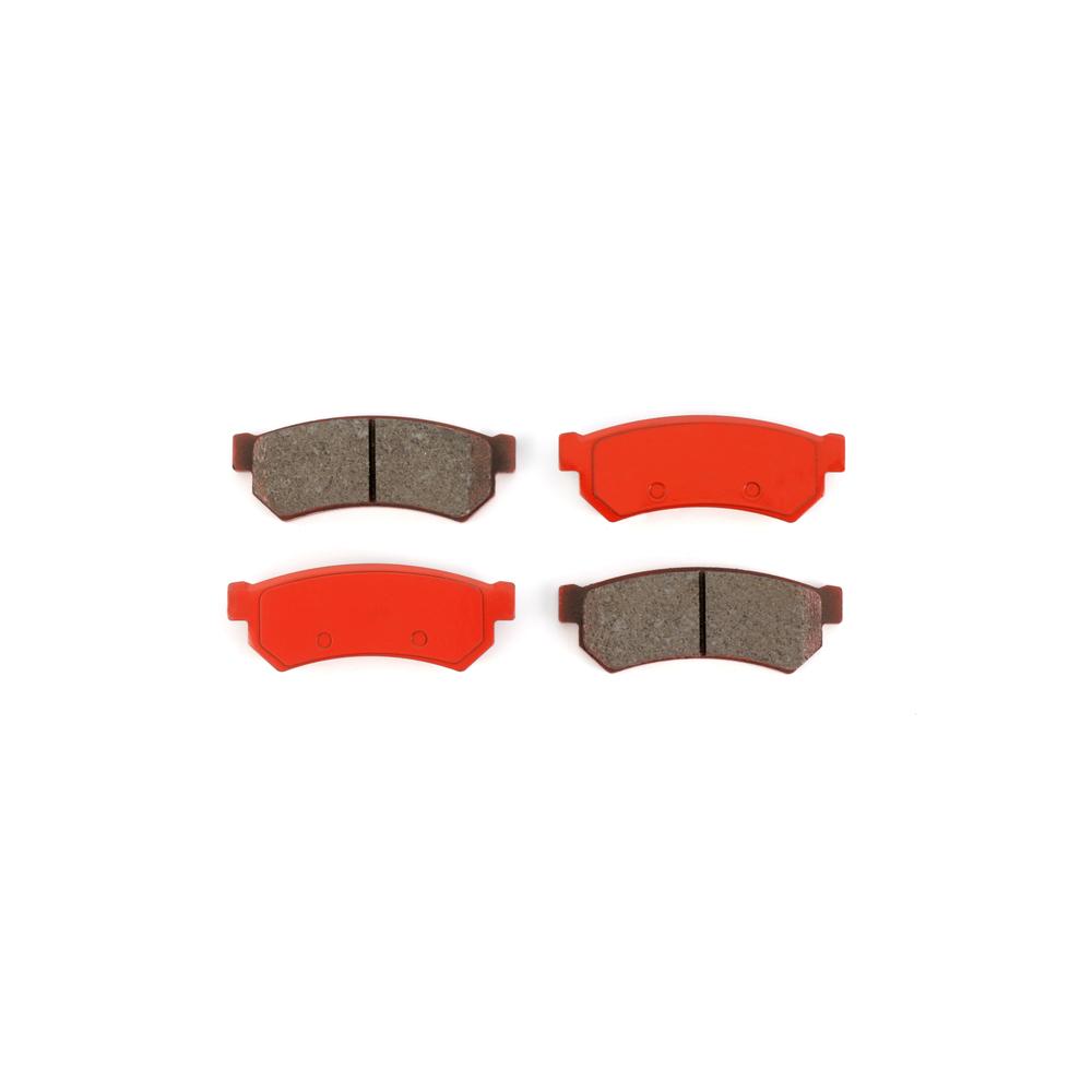 REAR Ceramic Brake Pads Fits  07-08 Suzuki Forenza