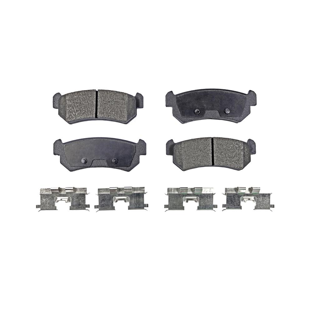 For Chevrolet Suzuki Optra Forenza Reno Front Rear Semi-Metallic Brake Pads
