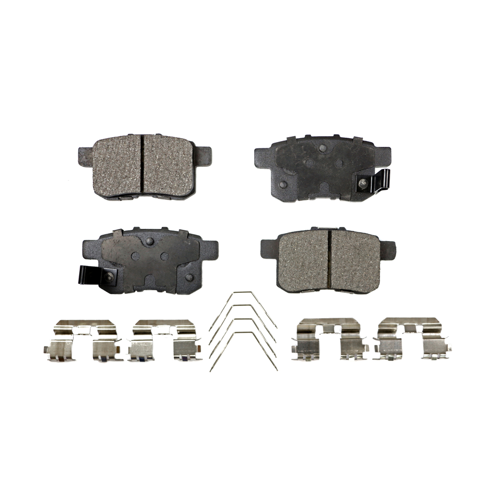 For Acura for Honda Accord EX EX-L Set Of Front /& Rear Disc Brake Pads Bosch