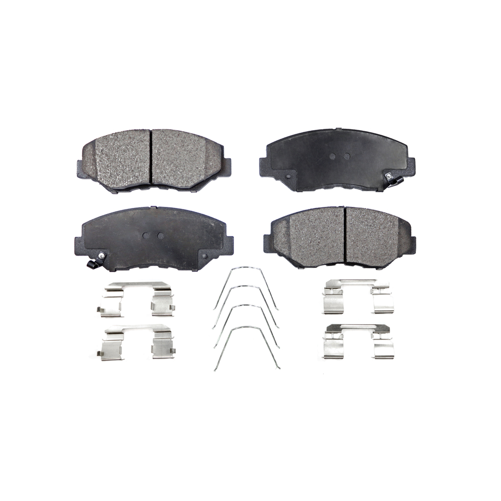 Front Disc Rotors & Ceramic Brake Pads Fit Honda Accord
