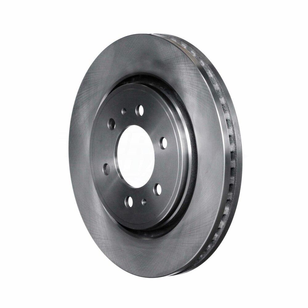 FRONT KIT Premium OE Replacement Brake Rotors /& Ceramic Brake Pads 54153 D1414