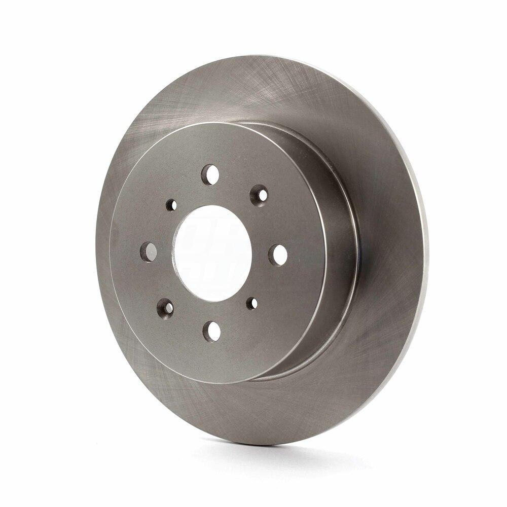 Rear Disc Brake Rotors And Semi-Metallic Pads Kit Honda