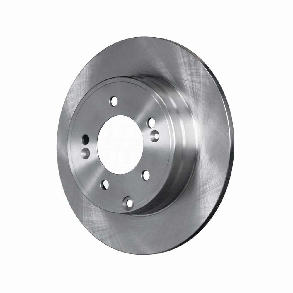 For Hyundai Kia Sonata Azera Rear  Blank Brake Rotors+Semi-Met Pads Optima