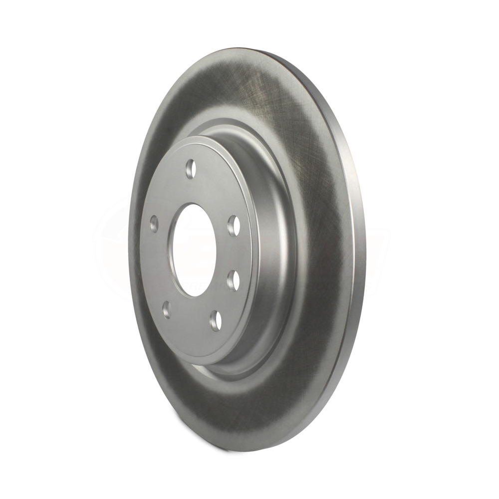 Front Rear Coated Disc Brake Rotor & Ceramic Pad For 2017