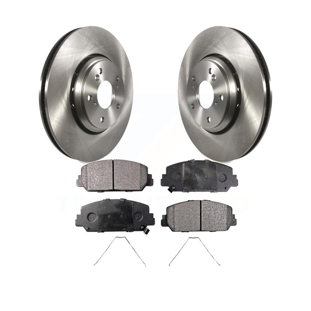 See Desc. OE Replacement Rotors w//Ceramic Pads F 2005 2006 Fit Dodge Caravan