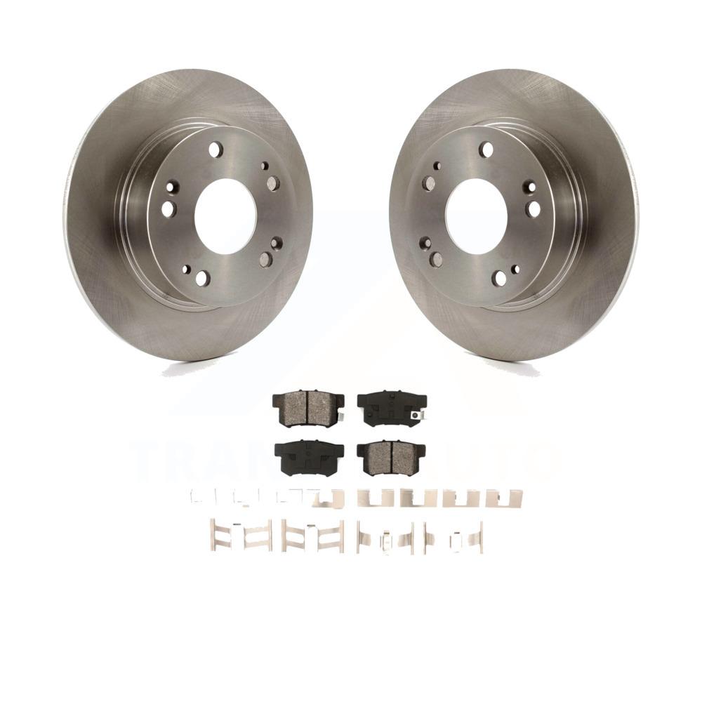 2006 Honda Accord Rear Disc OE Replacement Rotors w//Metallic Pads R