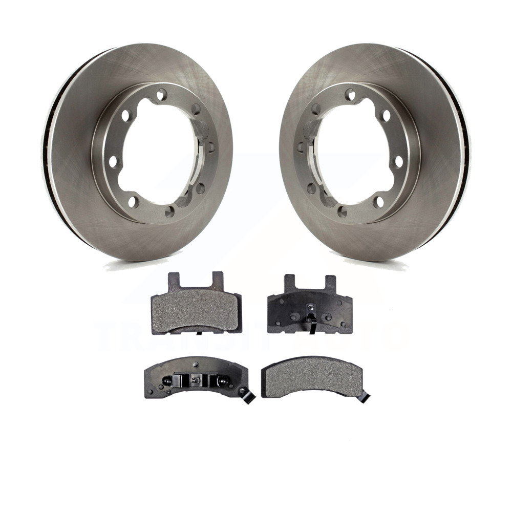 Front Brake Rotors For CHEVY GMC K2500 K3500 SUBURBAN 1500 2500 DODGE RAM
