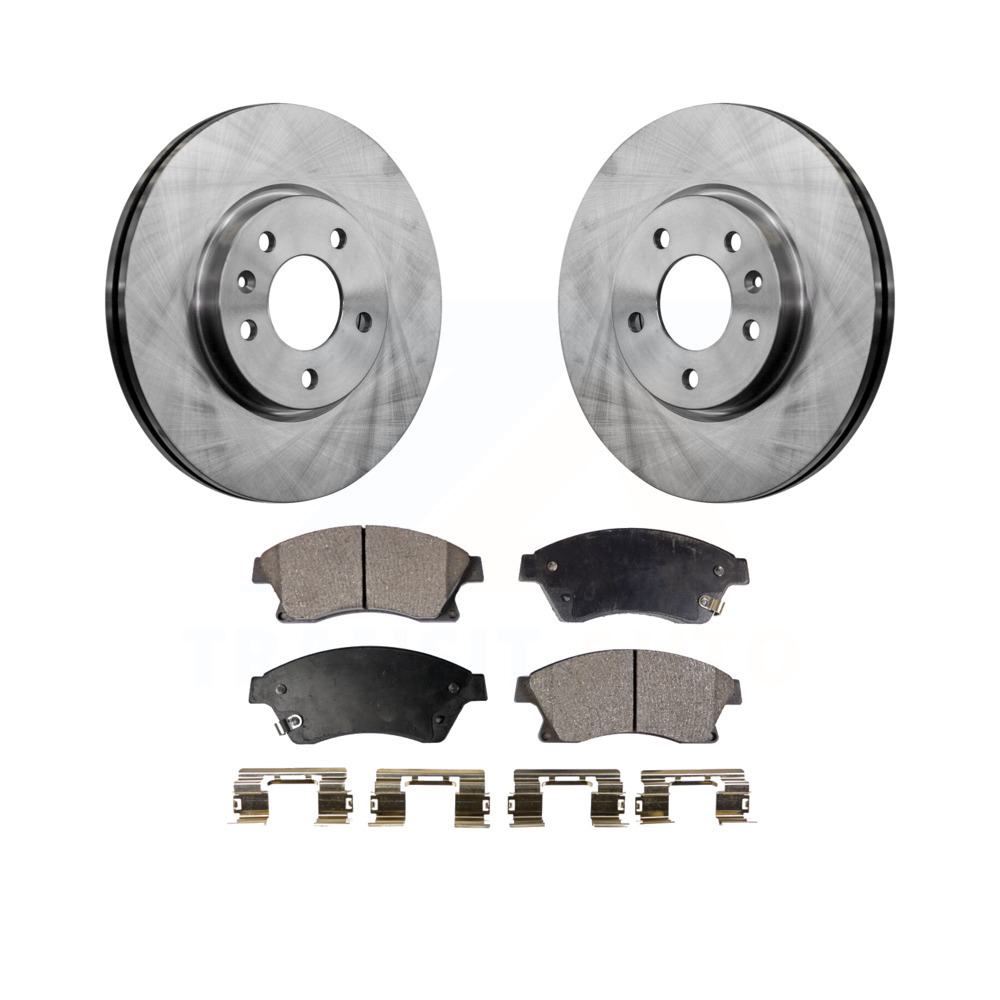 OE Replacement Rotors w//Metallic Pads F 1999 Ford F250 See Desc.