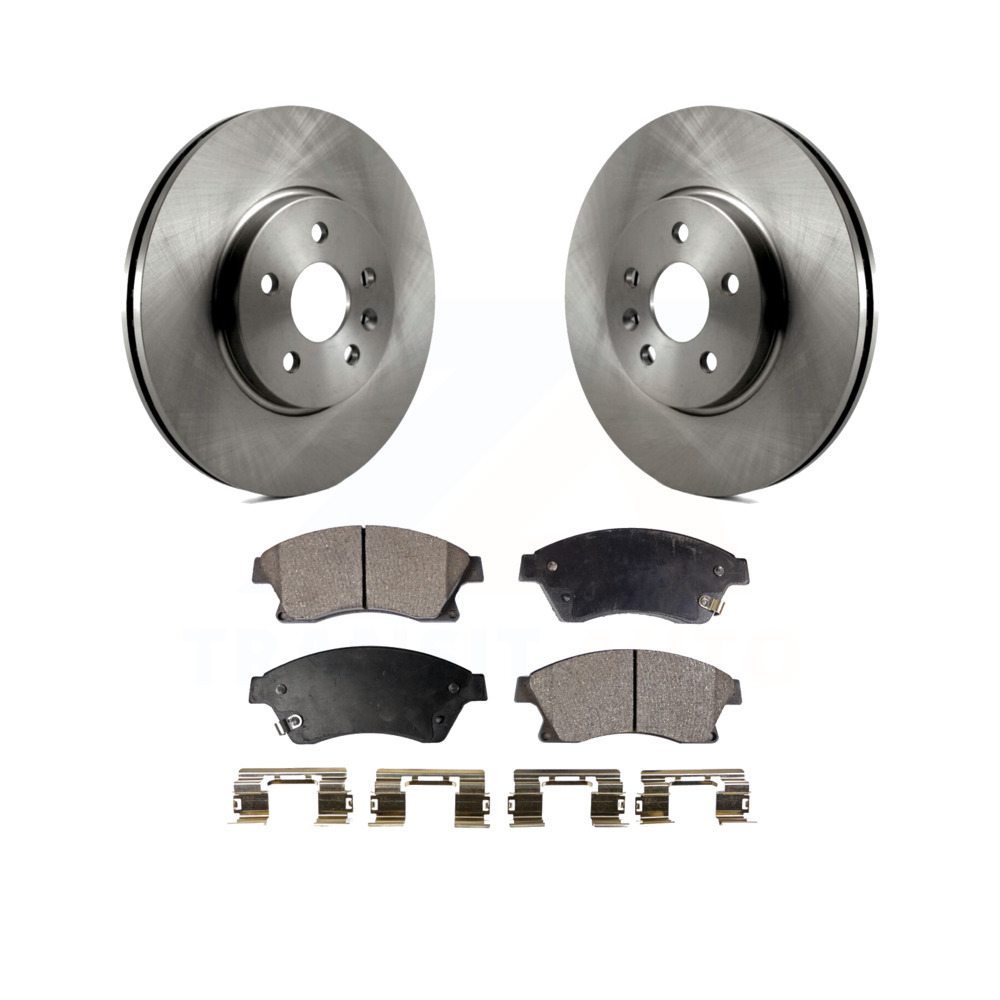Front /& Rear Brake Rotors For Buick Encore Chevy Trax
