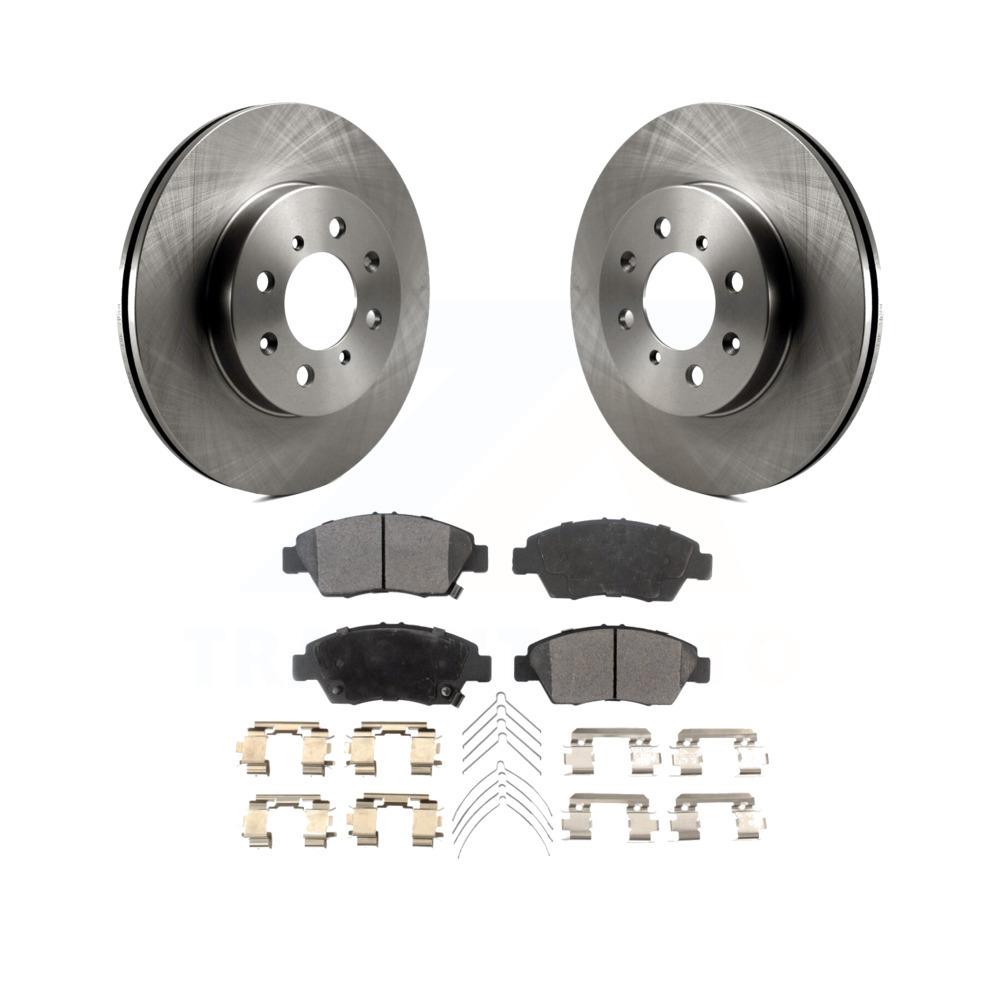 Front+Rear Brake Rotors /& Ceramic Pads For 1993-1997 HONDA CIVIC DEL SOL VTEC