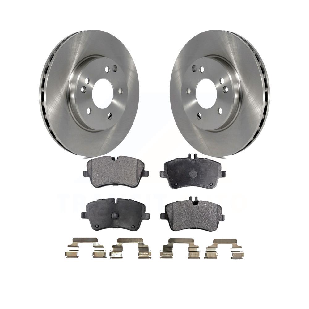 Front 2002 2003 2004 2005 C230 C240 Rotors w//Ceramic Pads OE Brakes