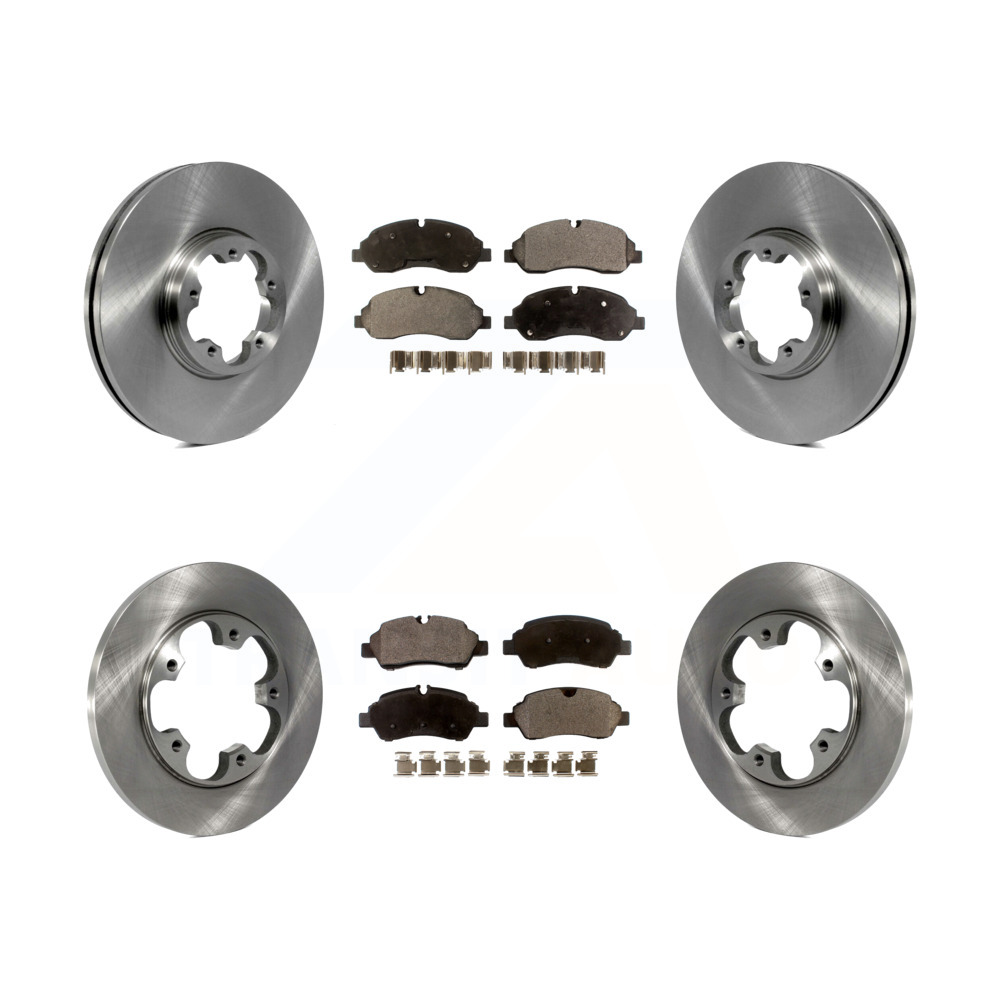 Rear Brake Disc Rotors For 2015 2016 2017 Ford Transit-150 250 350