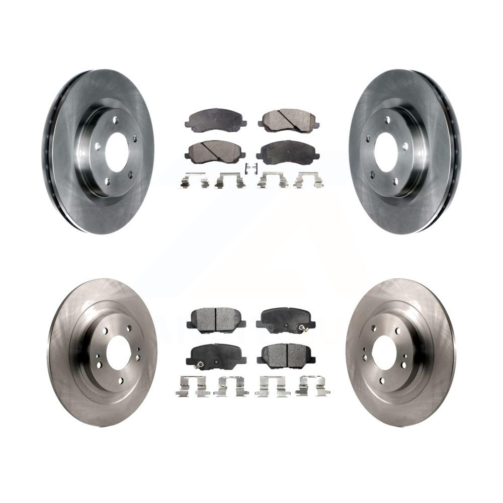 OE Replacement Rotors Ceramic Pads F 2011 2012 Mitsubishi RVR