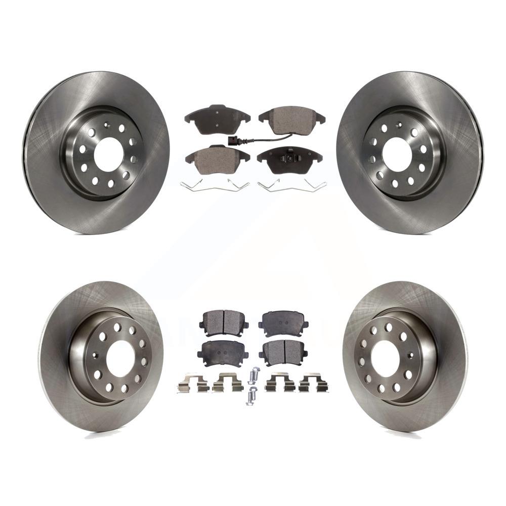 2013 Chevy Silverado 1500 2WD//4WD OE Replacement Rotors w//Ceramic Pads F