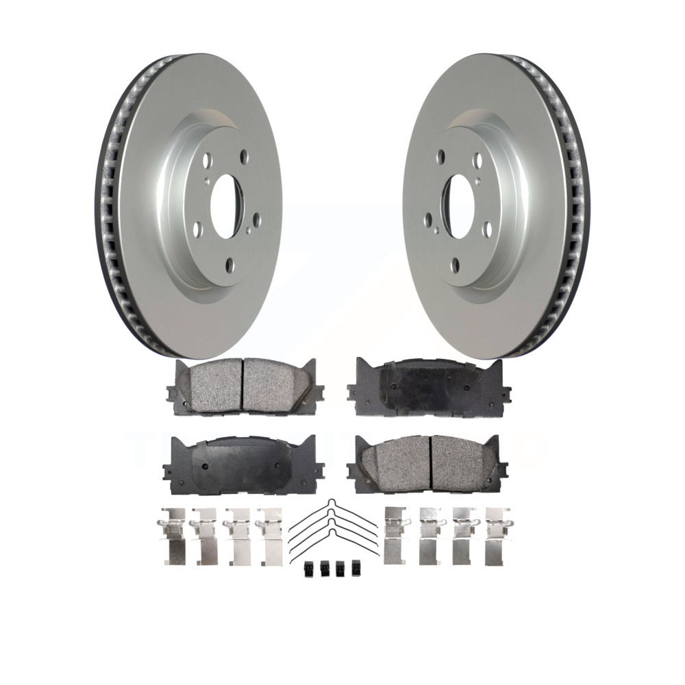 Camry Avalon ES300h Front  Semi-Metallic Brake Pads For Lexus Toyota ES350