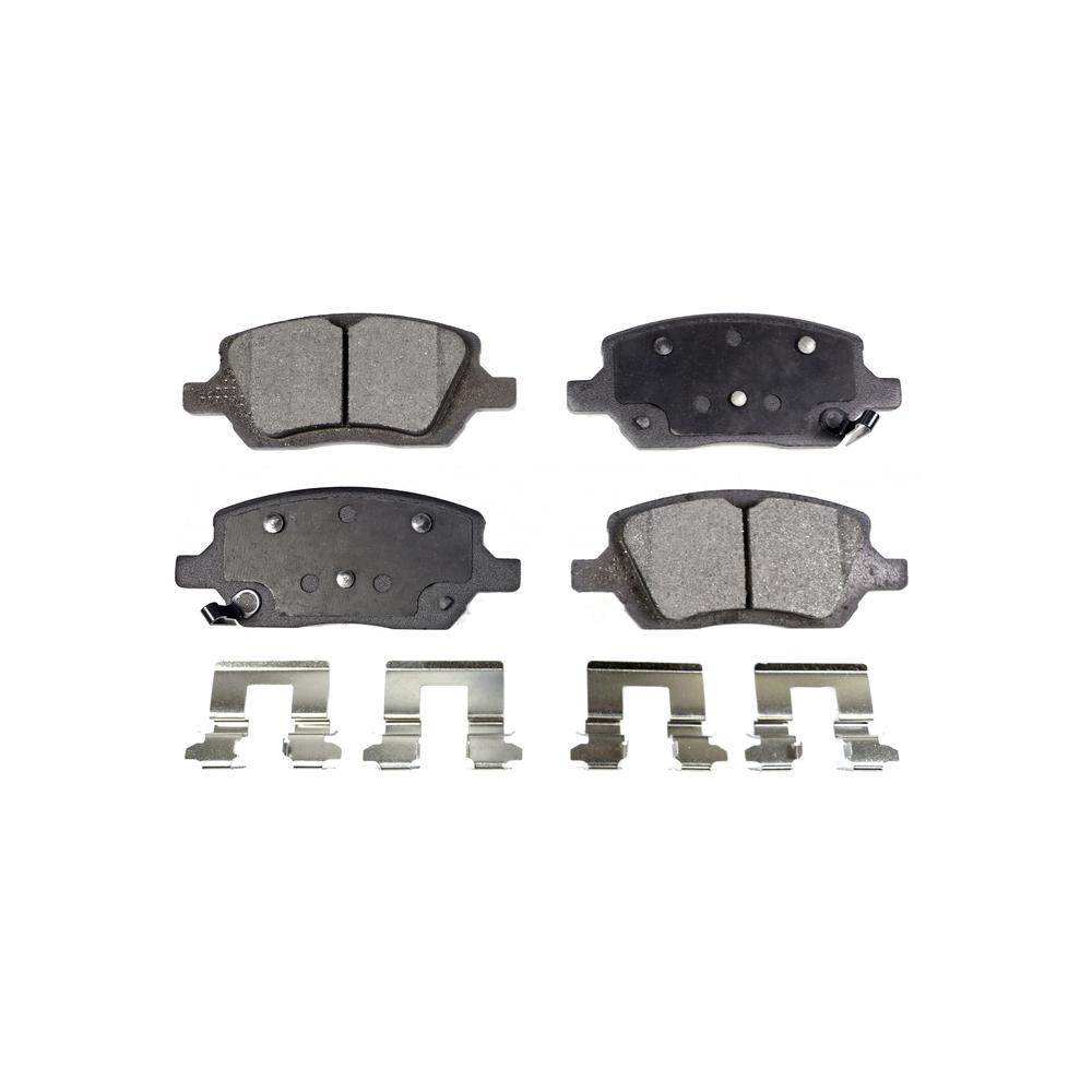 Front Rear Semi-Matllic Brake Pads Kit For Chevrolet Uplander Pontiac Montana Buick Terraza Saturn Relay VPG MV-1