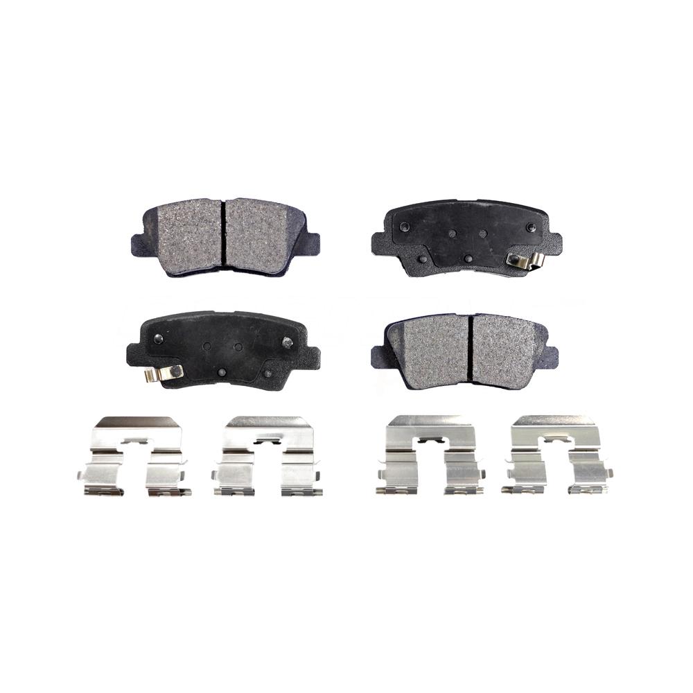 2014 2015 2016 For Hyundai Genesis Rear Semi Metallic Brake Pads