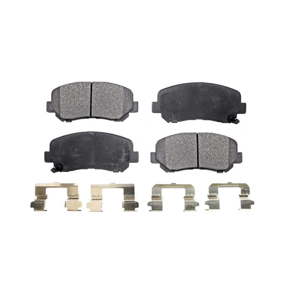 2013 2014 For Dodge Dart Front Semi Metallic Brake Pads