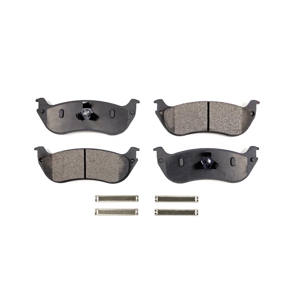 Mountaineer Front Rear Semi-Metallic Brake Pads Mercury Explorer For Ford