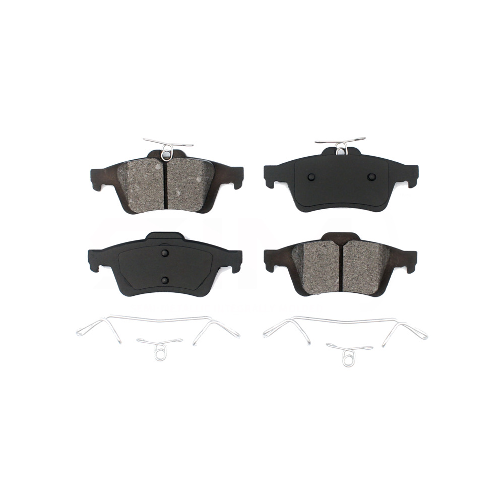 FRONT Semi-Metallic Brake Pads Fits 08-10 Ford Escape