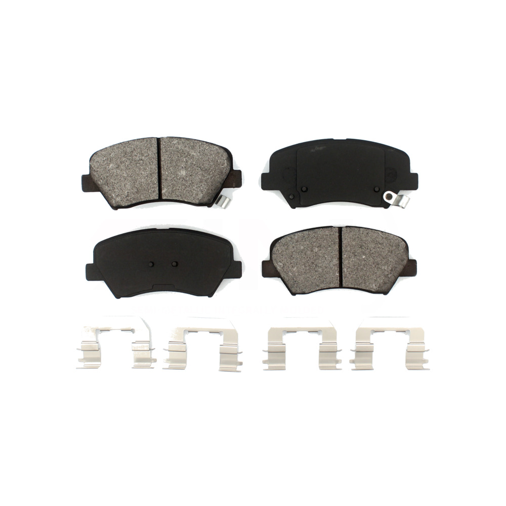 2010 2011 2012 2013 For Kia Forte Koup Front Semi Metallic Brake Pads