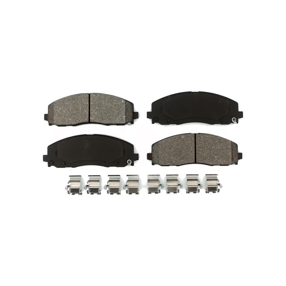 For Town /& Country,Caravan,Grand Caravan,Journey,Routan Front SD Duty Brake Pads
