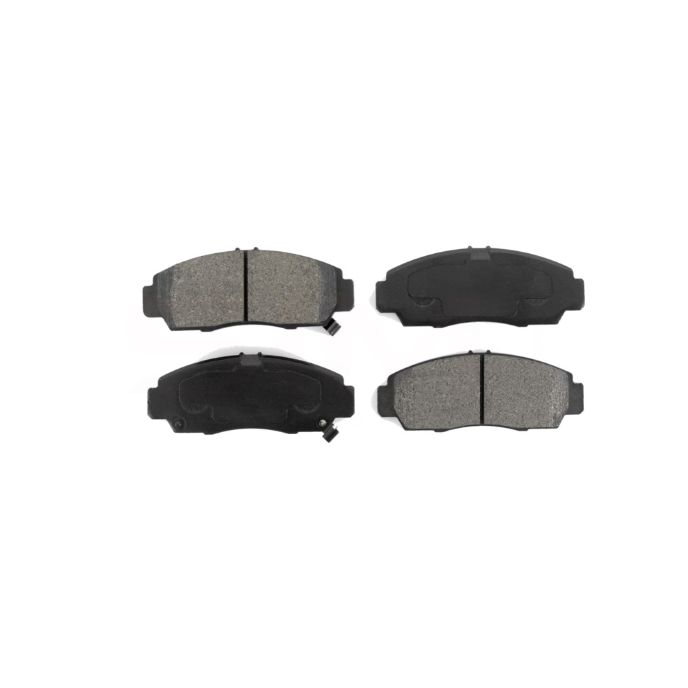 Front Disc Rotors /& SIM Semi-Metallic Brake Pads Fits Acura Honda Civic CR-Z RSX