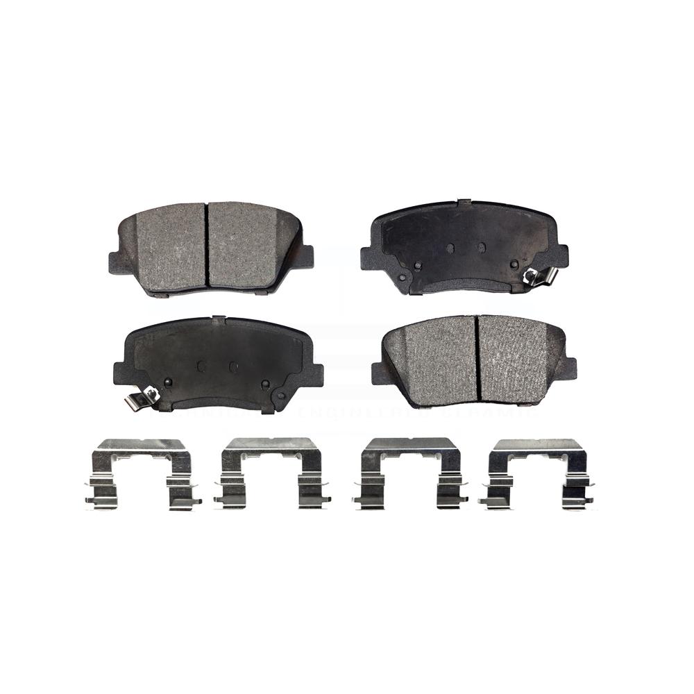 Front Ceramic Brake Pads For Hyundai Azera Santa Fe Kia Sorento