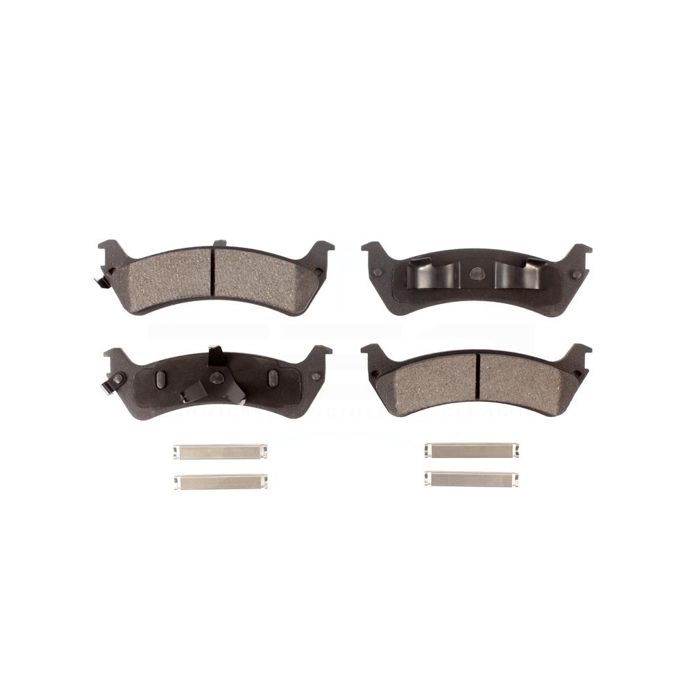 Ceramic w//Hardware Rear Brake Pad For Ford Explorer Sport Ford Ranger